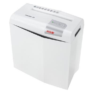 Уничтожитель документов с перекрестной резкой (шредер) HSM Shredstar X5-4.5x30 WHITE