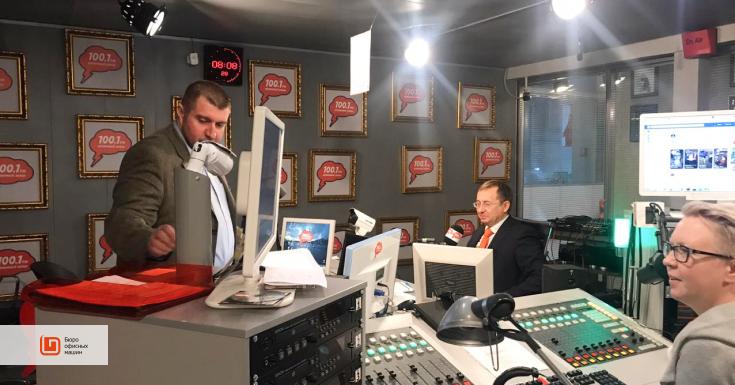 Игорь Челебаев в эфире радиостанции Серебряный дождь: о картриджах, экологии и опасной экономии