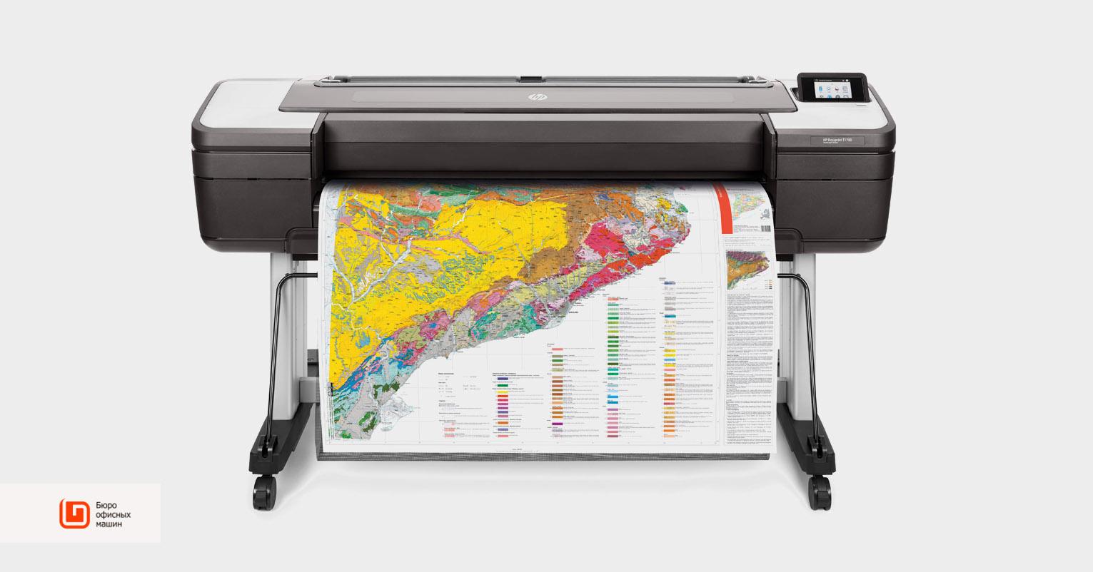 HP DesignJet: технологичные плоттеры для офиса