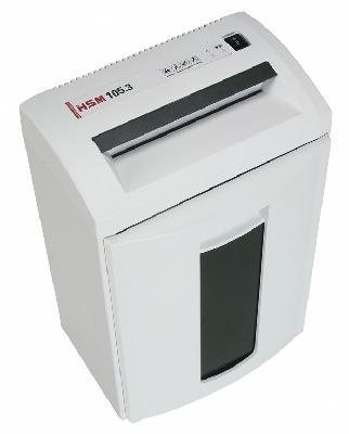 Уничтожитель документов с перекрестной резкой (шредер) HSM 105.3 (3.9×30)