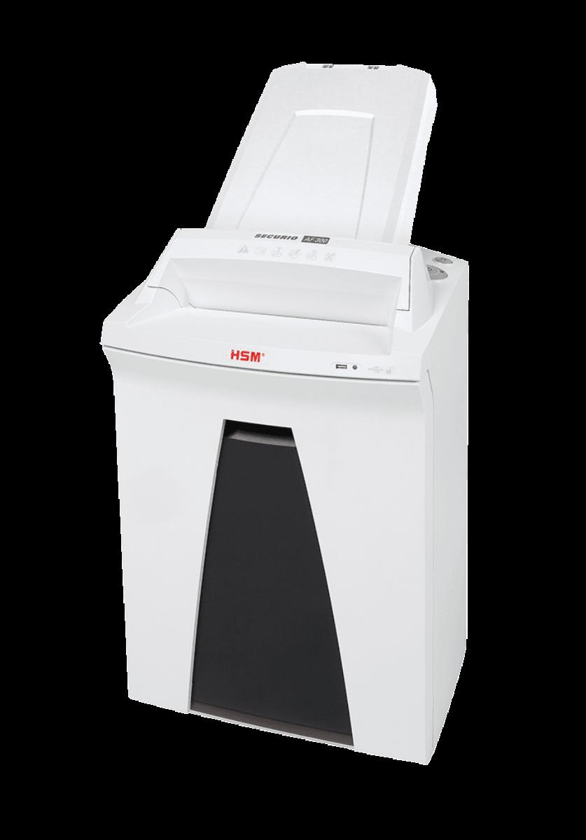 Уничтожитель документов с перекрестной резкой (шредер) HSM Securio AF300 (0.78×11)