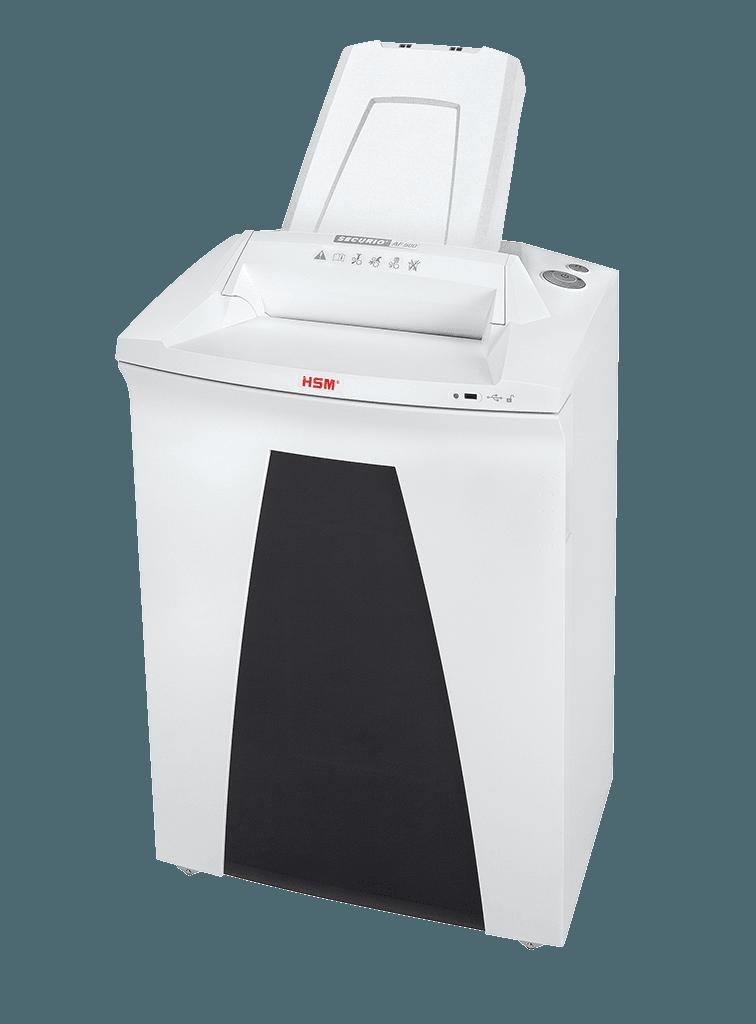 Уничтожитель документов с перекрестной резкой (шредер) HSM Securio AF500 (4.5×30)