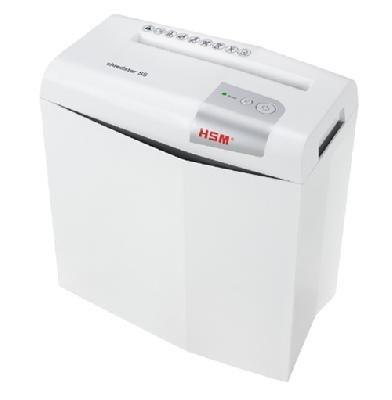 Уничтожитель документов с перекрестной резкой (шредер) HSM Shredstar X5-4.5×30 WHITE